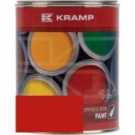 340508KR Lakier, farba pasuje do maszyn Pöttinger, czerwony, czerwona od 1988 1 L