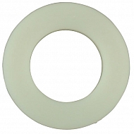 125A4N Podkładka płaska nylon Kramp, M4 9,0 mm