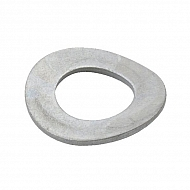 137B6 Podkładka podatna łukowa ocynk Kramp, M6, 12,0 mm