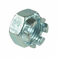 9352415P001 Nakrętka koronowa wysoka drobnozwojna kl.8 ocynk Kramp, M24x1,5