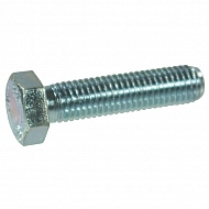 933612 Śruba cały gwint kl. 8.8 ocynk Kramp, M6x12 mm