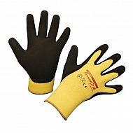 HS297282 Rękawice PowerGrab, żółte, roz. 8
