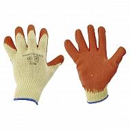 1950110520 Rękawice robocze dziane powlekane, duże