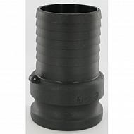 """18109E78 Szybkozłączka męska z przyłączem węża PP Arag, 3"""" 78 mm"""