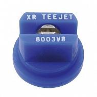 XR8003VS Dysza płaskostrumieniowa XR 80° niebieska V2A nierdzewna