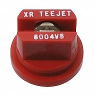 XR8004VS Dysza płaskostrumieniowa XR 80° czerwona V2A nierdzewna