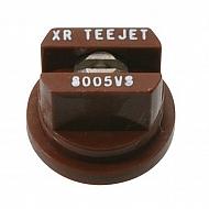 XR8005VS Dysza płaskostrumieniowa XR 80° brązowa V2A nierdzewna