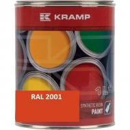 200108KR Lakier do maszyn RAL, 2001 pomarańczowy ceglasty 1 L, RAL2001
