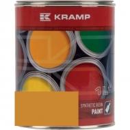 122608KR Lakier, farba pasuje do maszyn Liebherr, żółty, żółta od roku 1990 1 L