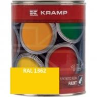136208KR Lakier, farba pasuje do maszyn Matbro, żółty, żółta 1 L