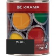 901108KR Lakier do maszyn RAL, 9011 czarny grafitowy 1 L