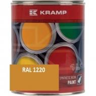 122008KR Lakier, farba pasuje do maszyn Liebherr, żółty, żółta 1 L
