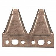 3441321 Podwójne ostrze 2,5 mm gładkie ESM