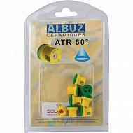 ATR60YELLOW Dysza stożkowa ATR 60° żółta