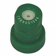 TXB80015VK Dysza o pustym stożku TXB 80° zielona ceramiczna