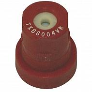 TXB8004VK Dysza o pustym stożku TXB 80° czerwona ceramiczna