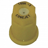 TXVK3 Dysza o pustym stożku TXVK 80° żółta ceramiczna