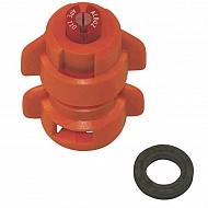 TD11001 Dysza płaskostrumieniowa  TD 110° pomarańczowa