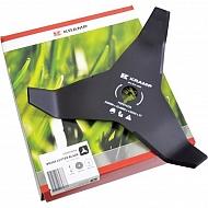 FGP014256 Nóż do kosy mulczujący 3 zęby Kramp, 300-25.4 - 4 mm