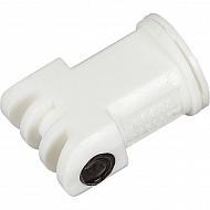 AITTJ6011008VP Podwójna dysza iniektora AITTJ 110° biała, tworzywo sztuczne