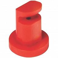 AN24 Dysza płaskostrumieniowa AN Polijet 130° czerwony, tworzywo sztuczne