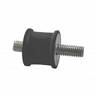 AGW75122 Zderzak metalowo-gumowy 25x22