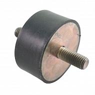 AGW26416 Zderzak metalowo-gumowy 60x30 M12