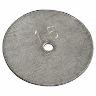 65004027031573 Kryza rozpylacza RSM, Ø 1,5 mm