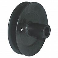 7560486 Koło pasowe agregatu tnącego śr. 129mm, oryginał