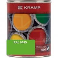 649508KR Lakier, farba pasujący do maszyn Fendt, zielony, zielona od roku 2016 1 L