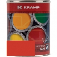 365508KR Lakier, farba pasujący do maszyn Grégoire-Besson, czerwony, czerwona 1 L
