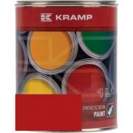 321508KR Lakier, farba pasuje do maszyn Gutbrod, czerwony, czerwona 1 L