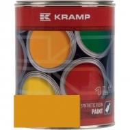 119508KR Lakier, farba pasuje do maszyn Kleine, żółty, żółta 1 L
