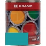 523508KR Lakier, farba pasuje do maszyn Kobelco, turkusowy 1 L