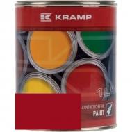 327008KR Lakier, farba pasujący do maszyn Kongskilde, czerwony, czerwona 1 L