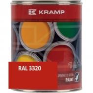 332008KR Lakier, farba pasuje do maszyn Linde, czerwony, czerwona od roku 1986 1 L
