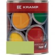 643508KR Lakier, farba pasuje do maszyn MB Trac, żółto-zielony 1 L