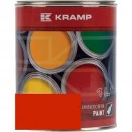 226508KR Lakier, farba pasuje do maszyn Maschio, czerwony, czerwona od roku 2005 1 L