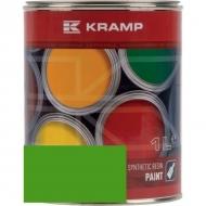 630508KR Lakier, farba pasuje do maszyn Merlo, zielony, zielona 1 L