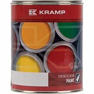 125008KR Lakier, farba pasuje do maszyn Mullie, żółty, żółta 1 L
