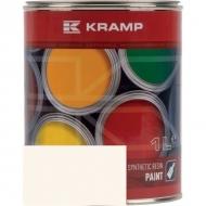 125508KR Lakier, farba pasuje do maszyn Mullos, kremowy, kremowa 1 L