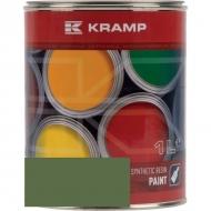647008KR Lakier, farba pasuje do maszyn Nodet, zielony, zielona 1 L