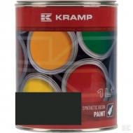744008KR Lakier, farba pasuje do maszyn Pöttinger, ciemno-szary, ciemno-szara 1 L