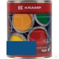 521008KR Lakier, farba pasuje do maszyn Rabe, niebieski, niebieska 1 L