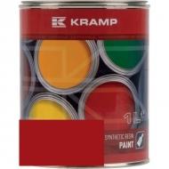 341008KR Lakier, farba pasuje do maszyn Rau Combi, czerwony, czerwona 1 L