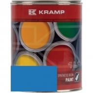 525508KR Lakier, farba pasuje do maszyn Ribouleau, niebieski, niebieska 1 L