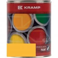 136308KR Lakier, farba pasuje do maszyn Sanderson, żółty, żółta 1 L