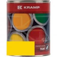 102308KR Lakier, farba do maszyn RAL 1023, RAL1023,  żółty drogowy, żółta drogowa 1L