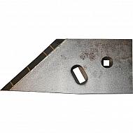 217001402LCN Lemieszyk boczny agregatu, lewy, z węglikiem spiekanym