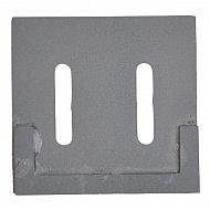 AB090003CN Skrobak wału, z węglikiem spiekanym, 95 x 90 mm